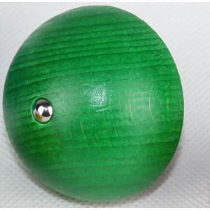 Holzspielzeug Halbkuglekreisel Grün Ø 4,9cm NEU