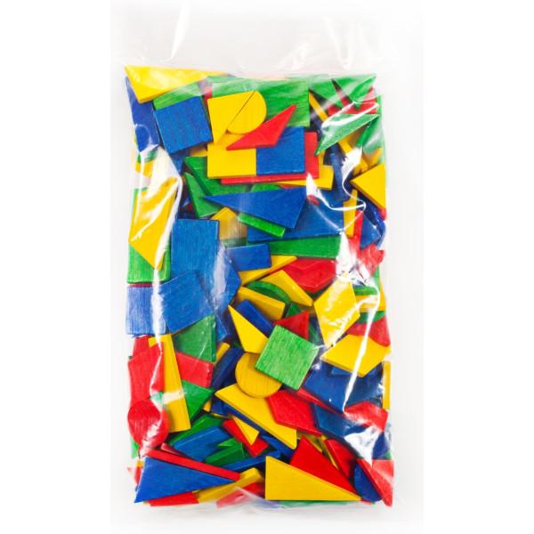 Holzspielzeug Legetäfelchen Kennlernpackung 1 LxBxH 170x300x20mm NEU