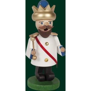 Räucherfigur Weihnachten Erzgebirge Seiffen Räuchermann König Ludwig 26357 NEU