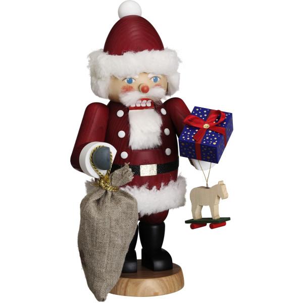 Nußknacker Weihnachten original Erzgebirge Seiffen Weihnachtsmann 11904 NEU
