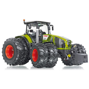 7328 Wiking Claas Axion 950 mit Zwillingsbereifung Traktor 1:32 Bauernhof NEU