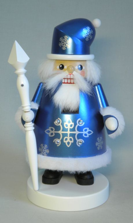 Nussknacker Santa Frost 21 cm Weihnachtsfigur Deko Seiffen Erzgebirge NEU 62659