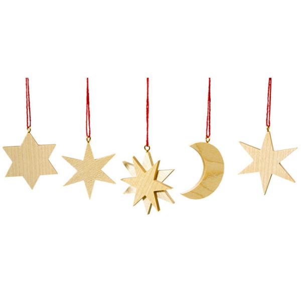 Baumbehang Sonne Mond Sterne