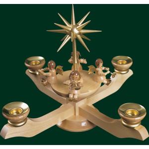 Adventsleuchter Leuchter Kerzenhalter Weihnachtsleuchter NEU Erzgebirge 00043