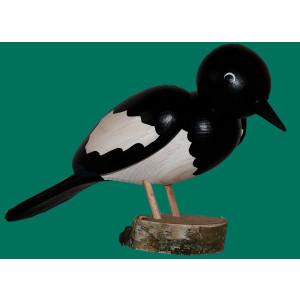Vogel Elster 15 cm NEU