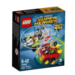 LEGO® Marvel Super Heroes 76062 Mighty Micros: Robin™ vs. Bane™ NEU