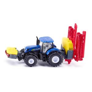 Siku 1799 SIKU Farmer New Holland Traktor mit Pflanzenschutzspritze Maßstab: 1:87 NEU