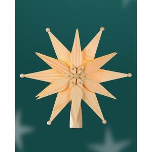 Baumschmuck Christbaumspitze el Beleuchtet doppelt aus Kiefernblätter BxHxT=25x25x7cm NEU