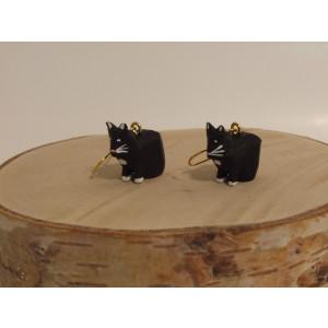 Ohrringe als Reifentier Katzen Höhe ca 2 cm NEU