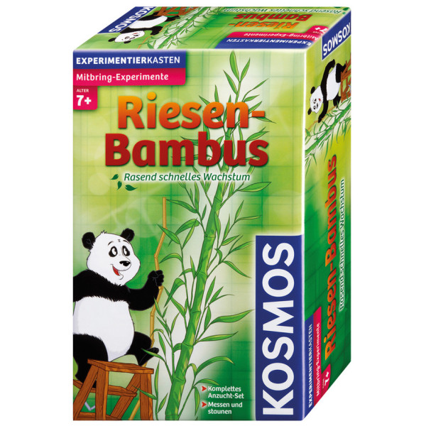 Kosmos 65740 Riesen-Bambus Experimentierkasten NEU