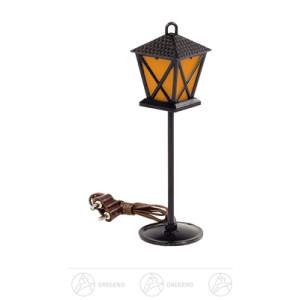 Ersatzteile & Bastelbedarf Stehlaterne orange 3,5V inkl. Stecker, Kabel und LED Breite x Höhe x Tiefe 3 cmx11 cmx3 cm NEU