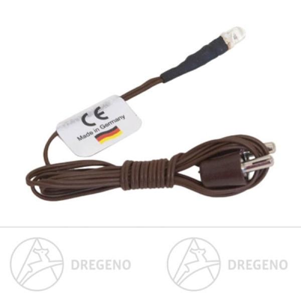 Ersatzteile & Bastelbedarf LED warmweiss komplett mit Kabel und Stecker NEU