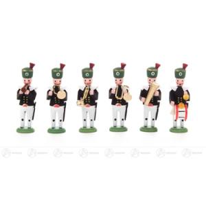 Miniatur Bergaufzug Musiker (6) Höhe ca 4,5 cm NEU