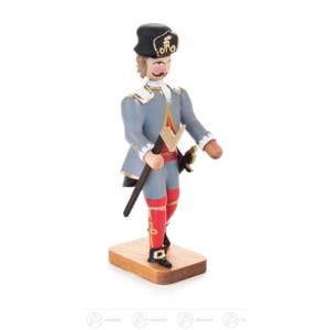 Miniatur Barockbergmann Schichtmeister aus dem Hüttenwesen Höhe ca 8,5 cm NEU
