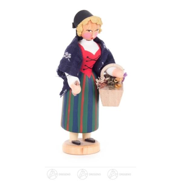 Miniatur Kräuterweibl Höhe ca 8 cm NEU
