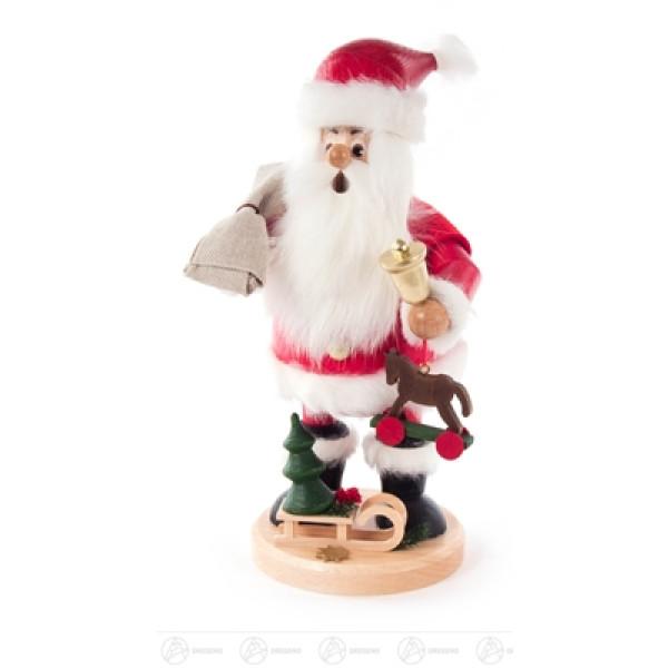 Räuchermann Weihnachtsmann Höhe ca 23 cm NEU