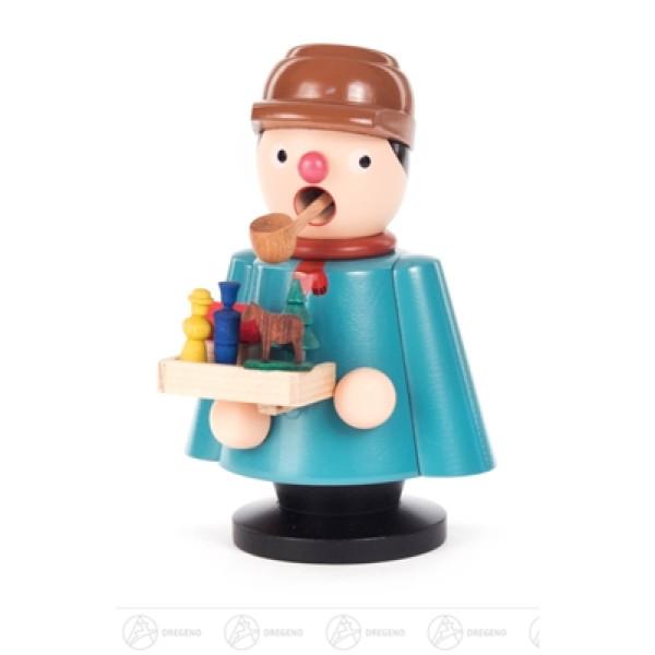 Räuchermann Spielzeughändler Höhe ca 11,5 cm NEU