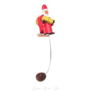 Spielzeug Schaukelweihnachtsmann Höhe ca 25 cm NEU
