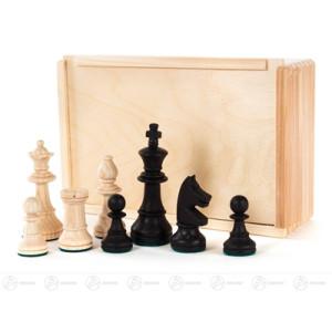 Schachfiguren beschwert in Holzschachtel Breite x Höhe x Tiefe 21,5 cmx6,5 cmx14,5 cm NEU