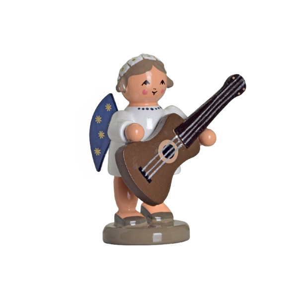 Engel mit Gitarre Höhe ca 8 cm NEU
