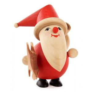 Miniatur Weihnachtsmann Wilddieb H=9cm NEU