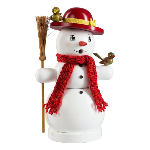 Räucherfigur Schneefrau Höhe 25cm NEU