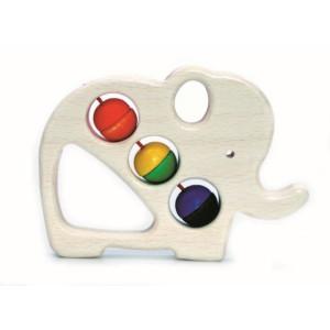 Babyspielzeug Greifring Elefant BxLxH 105x18x80mm NEU