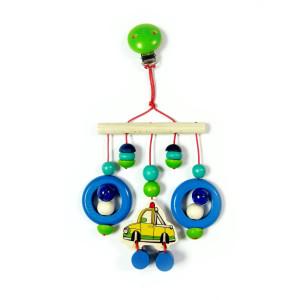Babyspielzeug Minitrapez Auto BxLxH 130x45x260mm NEU