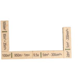 Lernspielzeug Rechendomino Flächen BxHxT 20x16,5x3cm NEU