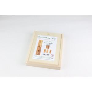 Lernspielzeug Bruch -und Prozentrechner Länge in der Kiste BxHxT 20,5x19,5x4,5cm NEU