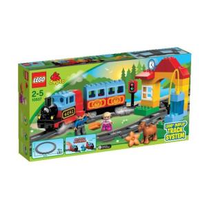 10507 LEGO® Duplo Eisenbahn Starter Set Zug Bahn Lokomotive NEU OVP