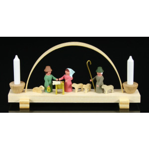 Schwibbogen Christi Geburt Breite ca 10 cm NEU