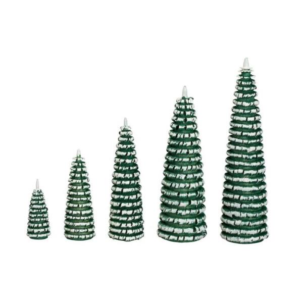 Ringelbaum grün/ weiß Holzbaum H= 12cm NEU