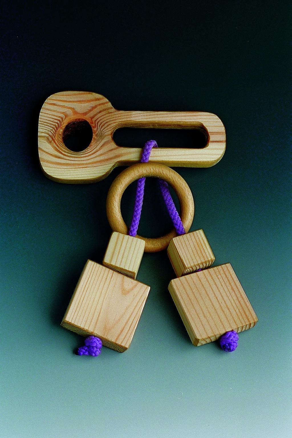 Holzspielzeug Kniffelbund LxBxH 11x6x1 cm NEU