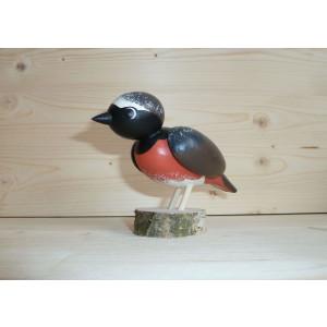 Vogel Gartenrotschwanz 10 cm NEU