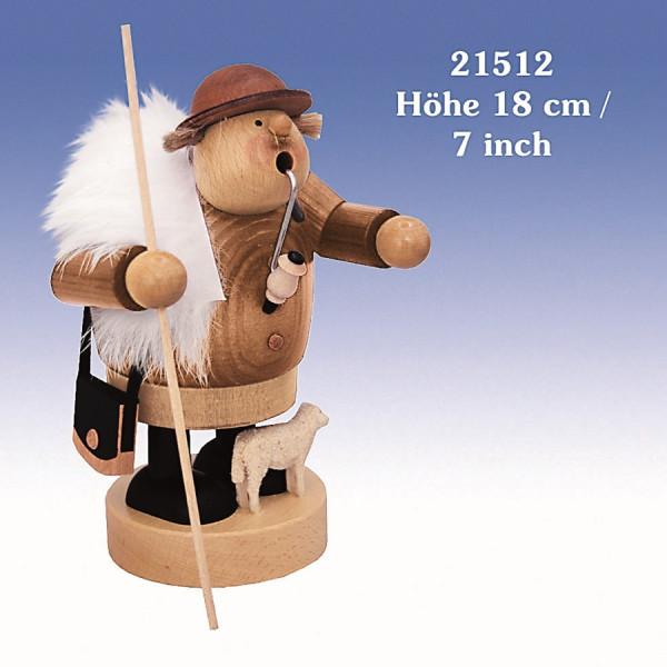 Räucherfigur Schäfer 18 cm NEU