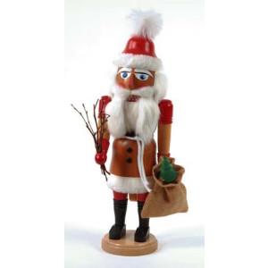 Nußknacker Weihnachtsmann mit Geschenkesack Höhe= 41cm NEU
