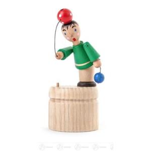Wackelfigur Wackelfigur Ballspieler Höhe ca 7,5 cm NEU