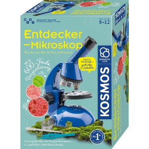 Experimentierkasten Entdecker-Mikroskop 320x217x125mm (LxBxH) NEU