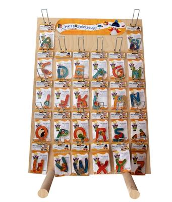 Verkaufsständer Warenständer für Buchstaben BxLxH 560x400x775mm NEU