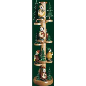 Räucherfigur Weihnachten original Erzgebirge Seiffen Wichtelbaum 26330 NEU OHNE FIGUREN