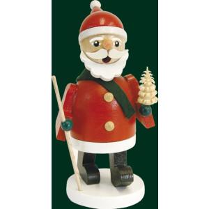 Räucherfigur Weihnachten original Erzgebirge Räuchermann Ruprecht 26341 NEU