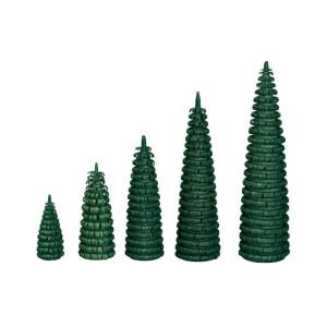 Ringelbaum grün Holzbaum H= 3cm NEU