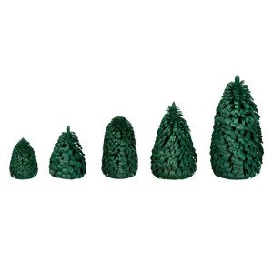 Ringelbaum Winterfichte grün Holzbaum H= 10cm NEU