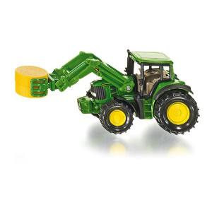 1379 Siku Super Traktor mit Ballenzange Landwirtschaft Treker NEU TOP