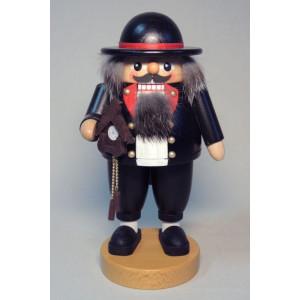 Nussknacker Schwarzwälder Uhrenverkäufer 20 cm Weihnachtsfigur Seiffen NEU 62679