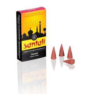 Räucherkerzen Santali Oriental HxBxT = 11x6x2cm NEU