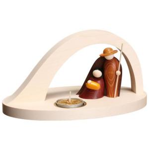 Kerzenhalter Christi Geburt mit Teelicht HxBxT 12x11x13,5cm NEU
