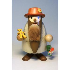 Nussknacker Langbart Spielzeughändler 17 cm Weihnachtsfigur Erzgebirge NEU 12359
