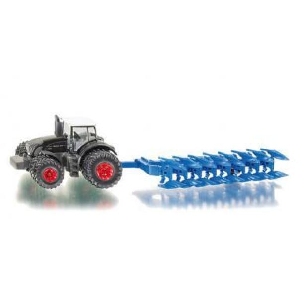 1862 Siku Traktor mit Pflug 1:87 Traktor Landwirtschaft Trecker NEU